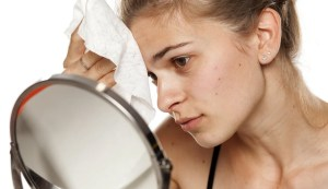 Smooth and acne-prone skin