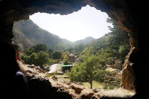 The cave of Shah Allah Ditta