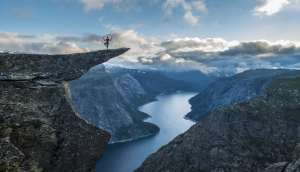 Trolltunga Norway most Dangerous Tourist Attractions in the World