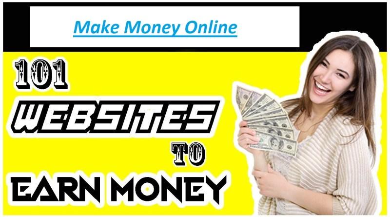 101 websites to earn money online