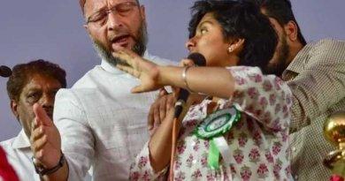 Indian girl amulia chanting pakistan zindabad sent to jail