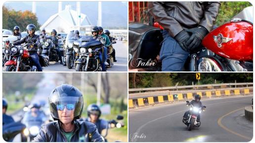Jonty Rhodes is visitng Islamabad on Bike