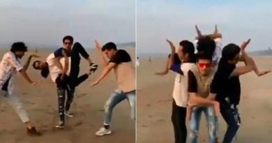 Viral Dance Video on Twitter