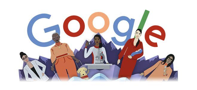 International Womens Day 2020 Google DOODLE