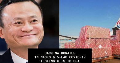 Jack Ma Donates Masks and Coronavirus testing kits to USA