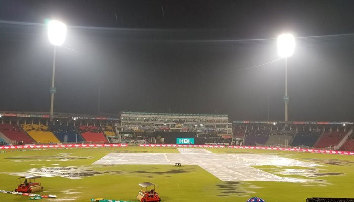 Quetta Vs Multan Match has been abandon due to heavy rain