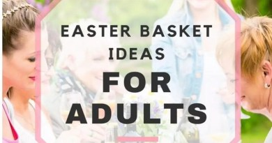 Amazing Homemade Easter Basket Ideas for Adults