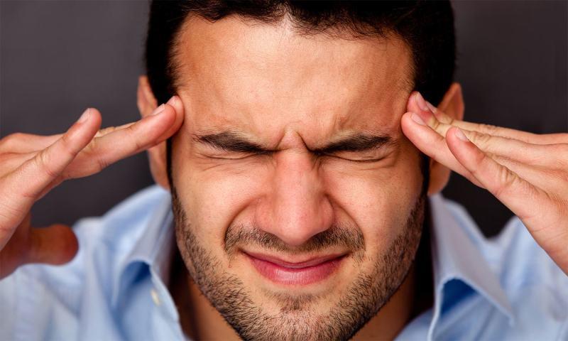 Migraine of half headache