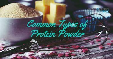 Common types of Protein Powder