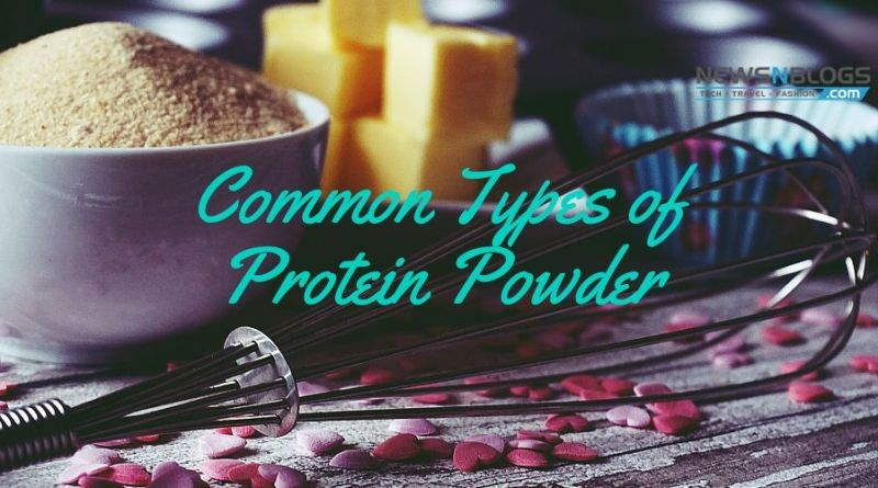 Common types of Protein Powder