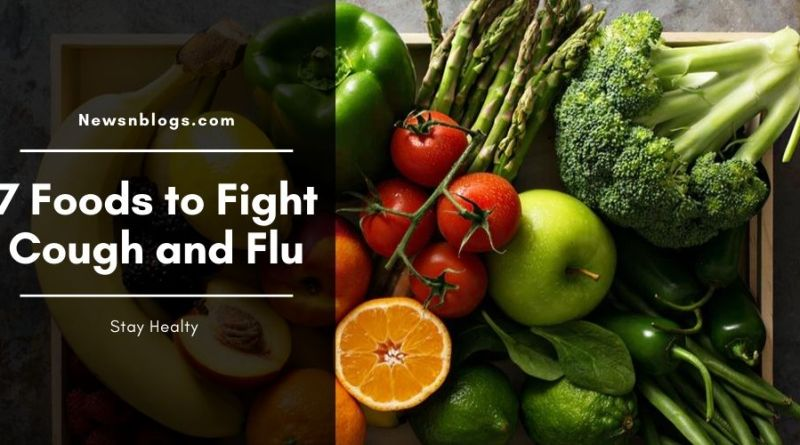Foods to fight cough and flu