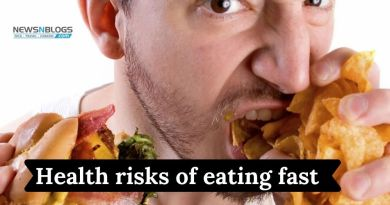 Health risks of eating fast