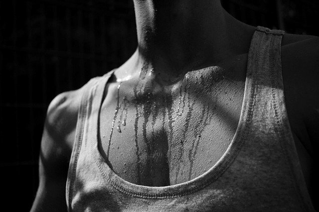 Sweating does not help you to lose fat