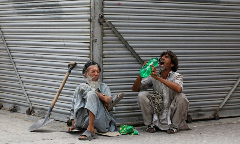 daily wagers during lockdown in karachi