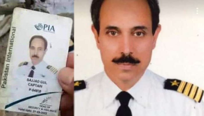 Captain Sajjad's family members are searching for his 'badge'
