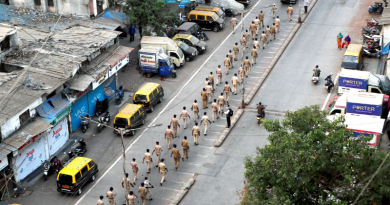 Hundred of Police officers tested positve for COVID-19 in India - Photo Source - Reuters