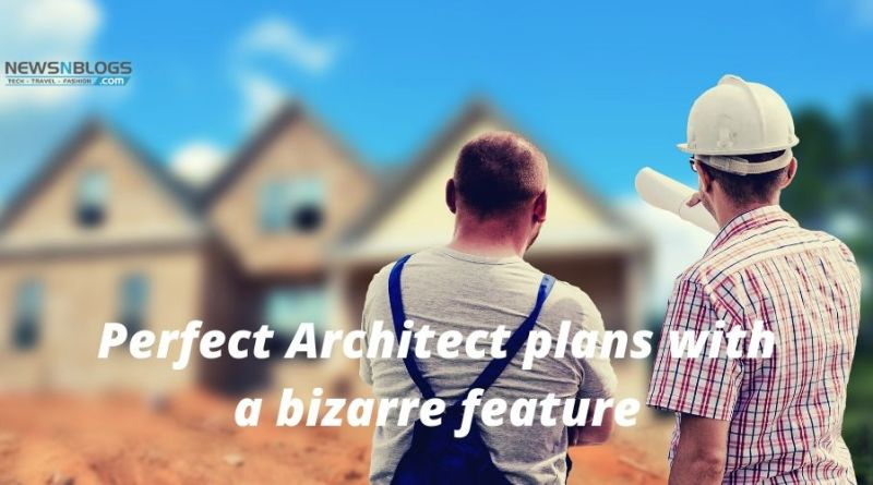 Perfect Architect plans with a bizarre feature