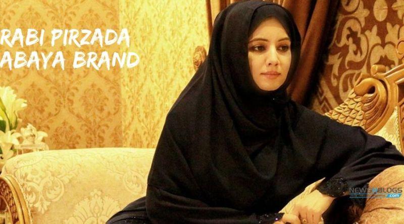 Rabi Pirzada Abaya Brand