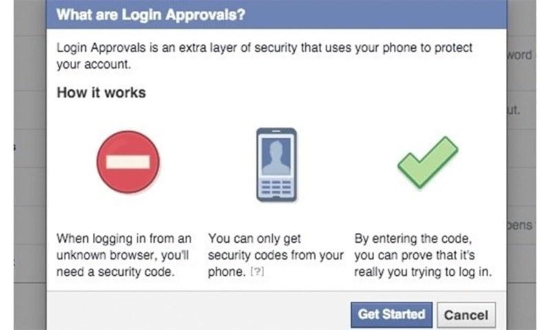 Turn on the login alert - Facebook Tips and Tricks