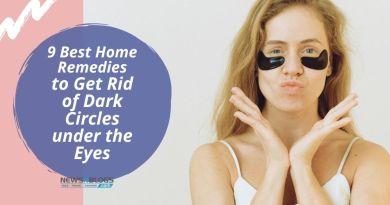 9 Best Home Remedies to Get Rid of Dark Circles under the Eyes