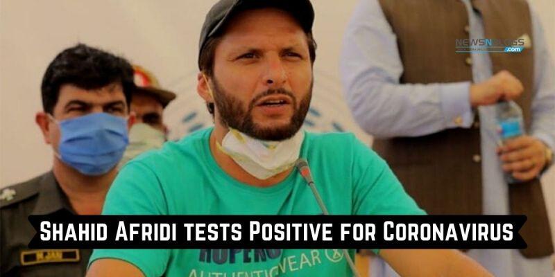 Shahid Afridi Corona Test