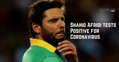 Shahid Afridi tests Positive for Coronavirus