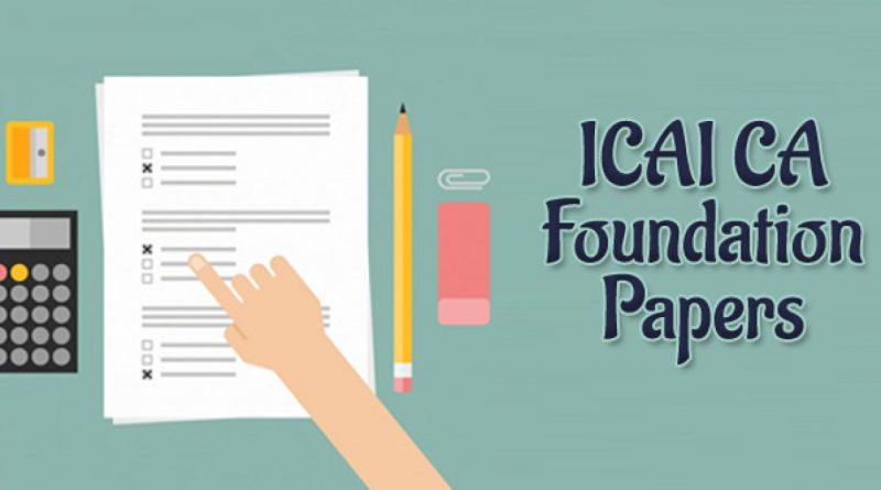 Do you want to know how would be your 2020 CA Foundation Question Paper