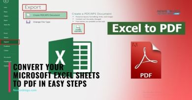 Convert your Microsoft Excel Sheets to PDF in Easy Steps