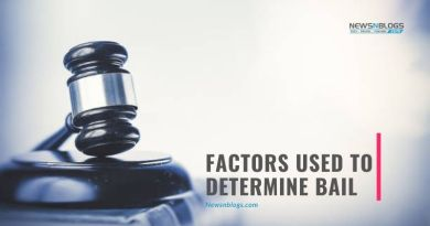 Factors Used To Determine Bail