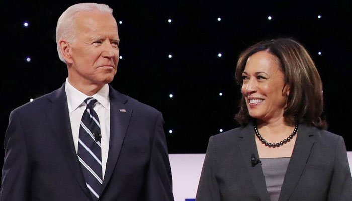 Kamala Harris congratulates Joe Biden