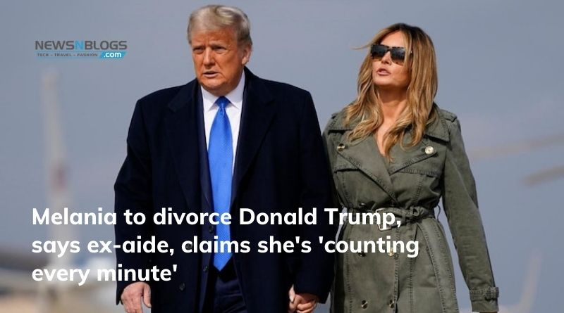 Melania to divorce Donald Trump, says ex-aide, claims she's 'counting every minute'