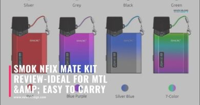 SMOK Nfix Mate Kit Review-Ideal For MTL & Easy To Carry