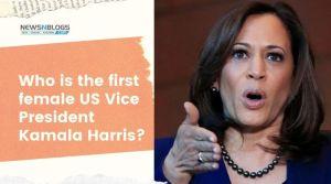 Who is the first female US Vice President Kamala Harris_