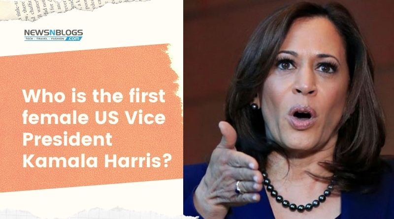 Who is the first female US Vice President Kamala Harris_