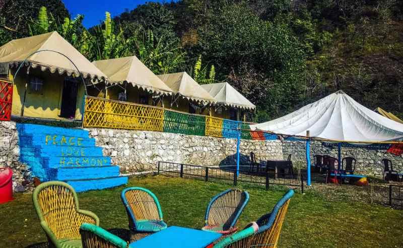 rishikesh beautiful camping sites