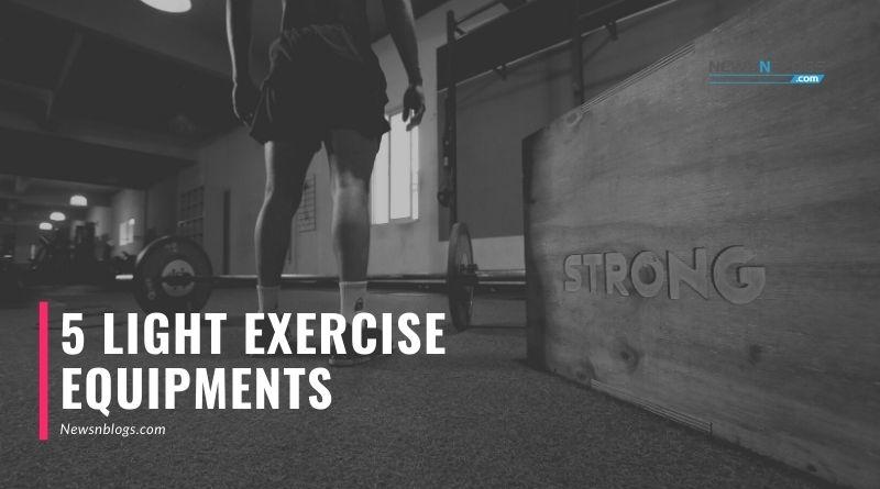 5 light Exercise Equipments