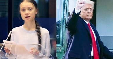 Greta Thunberg once again trolled Trump