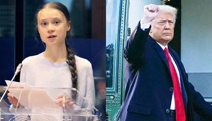 Greta Thunberg once again trolled Trump