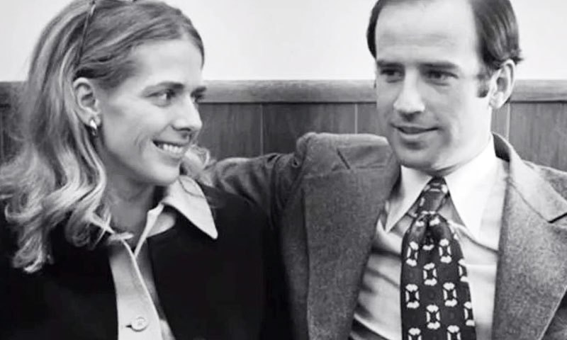 Joe Biden First Marriage Pictures
