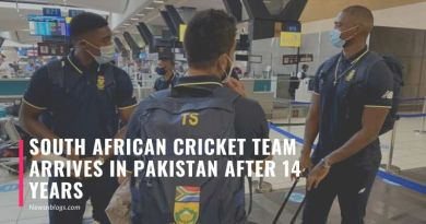 South African cricket team arrives in Pakistan after 14 years