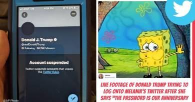 trump twitter ban memes