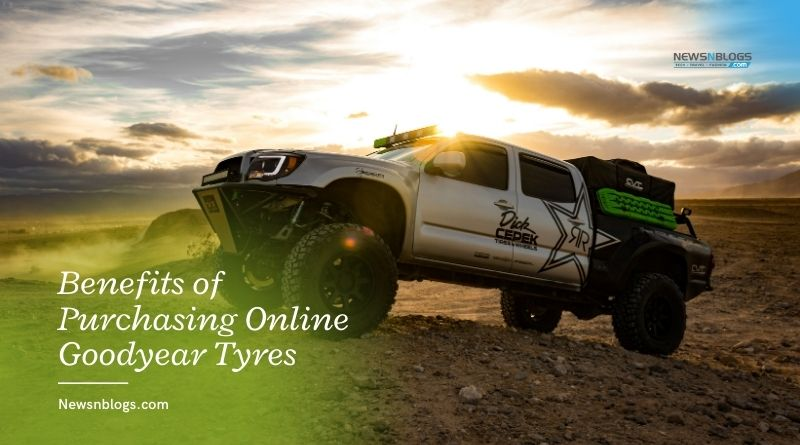 Benefits of Purchasing Online Goodyear Tyres