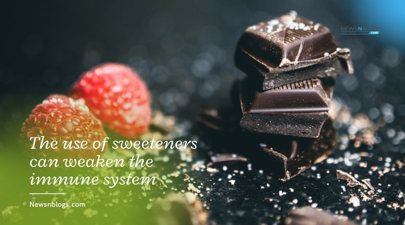 The use of sweeteners can weaken the immune system