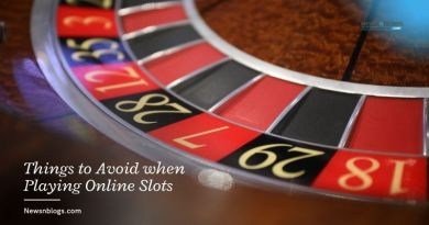Things to Avoid when Playing Online Slots