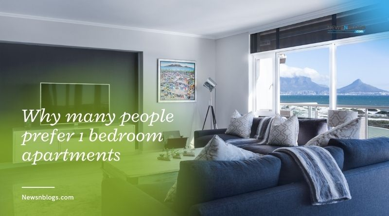Why many people prefer 1 bedroom apartments