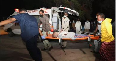 Car Bombing Explodes Outside a Luul Yemini Restaurant in Somalia's capital- Mogadishu death rate is reached about 20 with 30