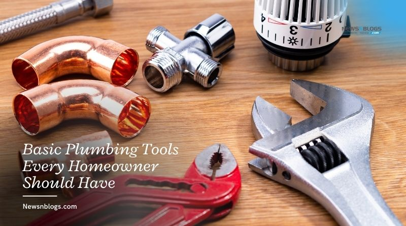 Basic Plumbing Tools Every Homeowner Should Have