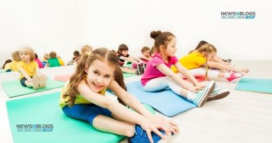 Gymnastics for kids at home just a step away