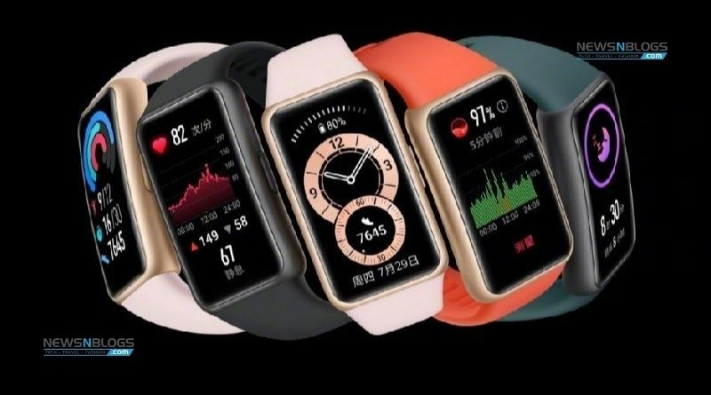 Huawei's new smartwatch GT Pro ECG and Band 6 Pro announced