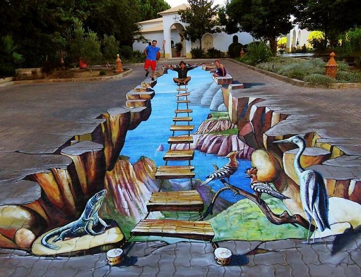 Amazing 3d paintings by Carlos Alberto GH